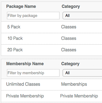 yoga studio software billing and membership dashboard